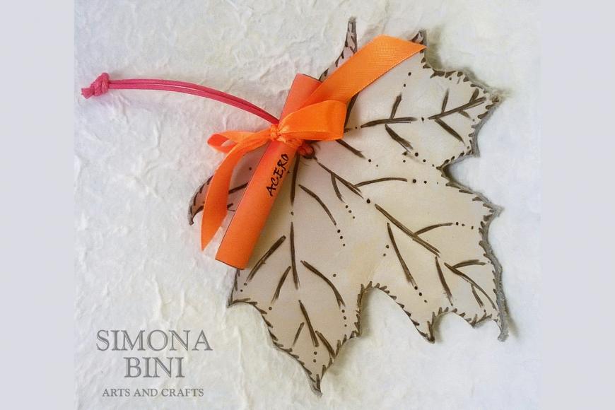 Foglie di pelle – Leather leaves