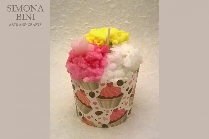 Candela bicchierino gelato – Ice cream candle
