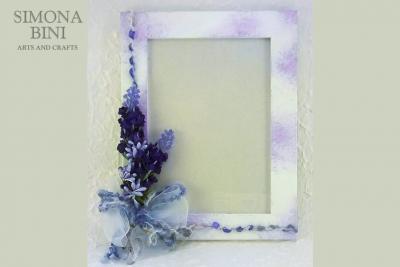 Cornice con lavanda –  Picture frame with lavender
