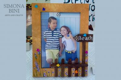 Cornice Beach – Beach Picture Frame