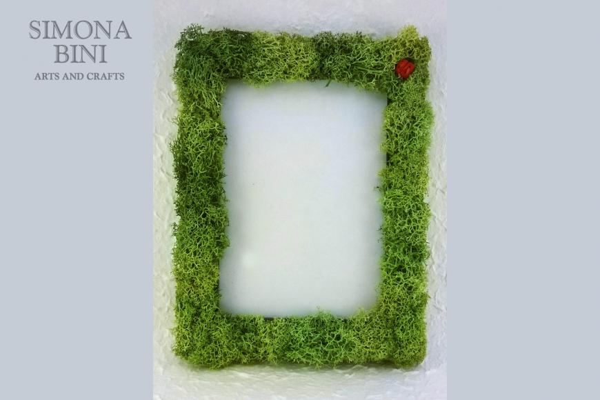 Cornice muschio – Frame with moss