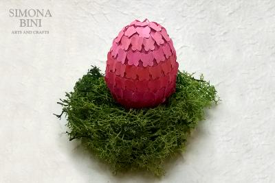 Ovetto di Pasqua rosa – Pink Easter egg