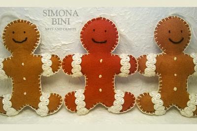 Omini di zenzero profumati – Scented Christmas Gingerbread