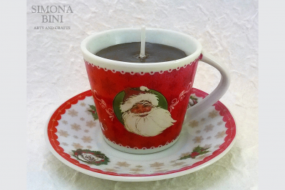 Tazze e tazzine candela per Natale – Candle cups for Christmas