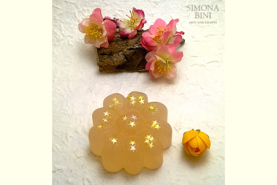 Sapone a forma di fiore – Soap in flower shape