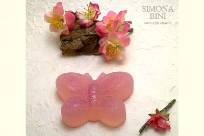 Sapone a forma di farfalla – Butterfly soap