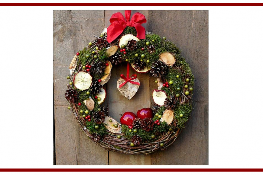 Idee di ghirlande natalizie dal web – Christmas wreaths from the web