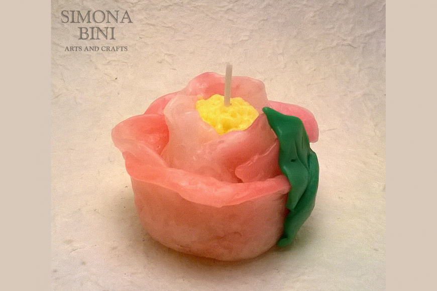 Candela fiore – Flower Candle