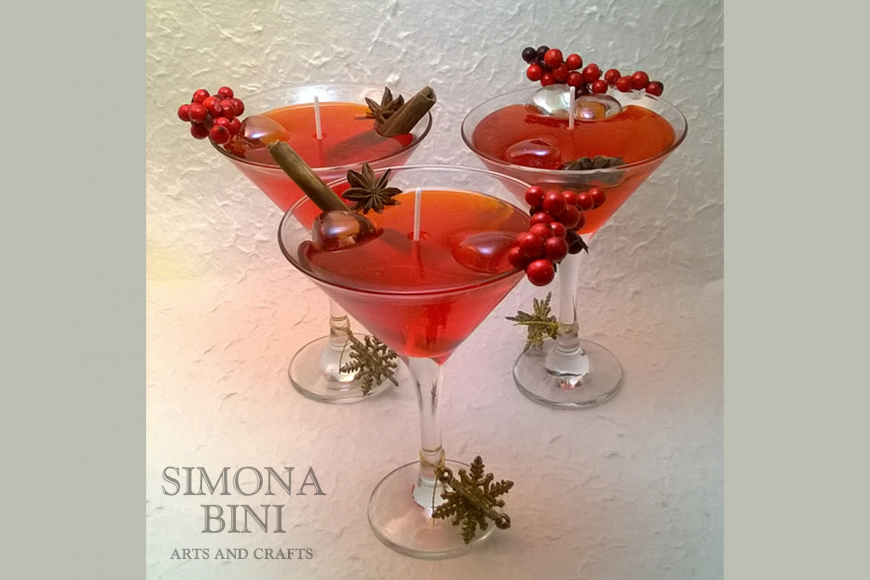 Candela cocktail – Cocktail candle