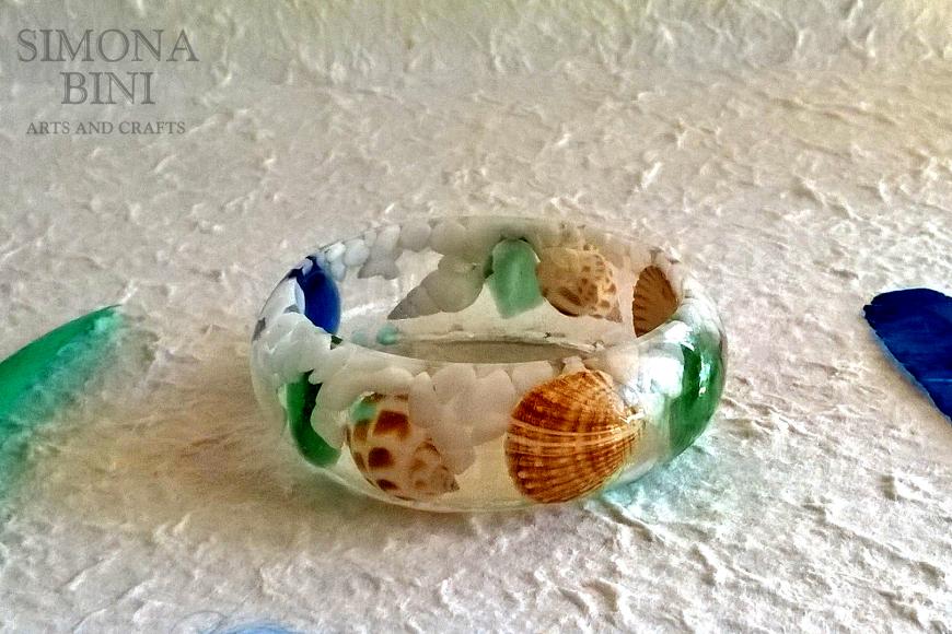 Bracciale con conchiglie – Bracelet with shells
