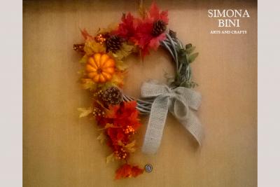 Ghirlanda autunnale – Autumn wreath