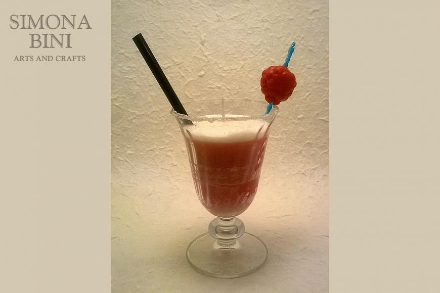 Candela Margarita alla fragola – Strawberry Margarite Candle