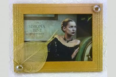 Cornice oro – Gold frame