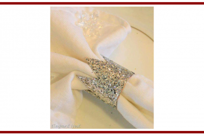 Idee dal web per creare dei portatovaglioli natalizi – Ideas from the web to create Christmas napkins