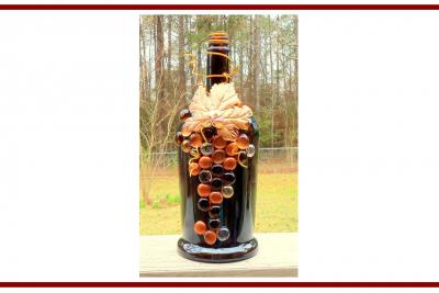 Idee dal web per decorare le bottiglie –  Ideas from the web to decorate the bottles