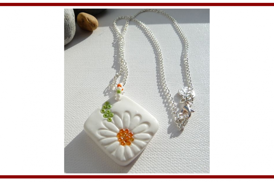 Idee dal web per gioielli creati con polymer clay – Ideas from the web for jewelry created with polymer clay