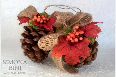 Pigna autunnale – Autumn pine cone