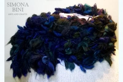 Sciarpa blu mare – Blue sea scarf