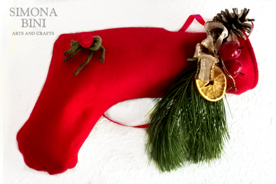 La calza riciclata della Befana –  The Befana recycled stocking