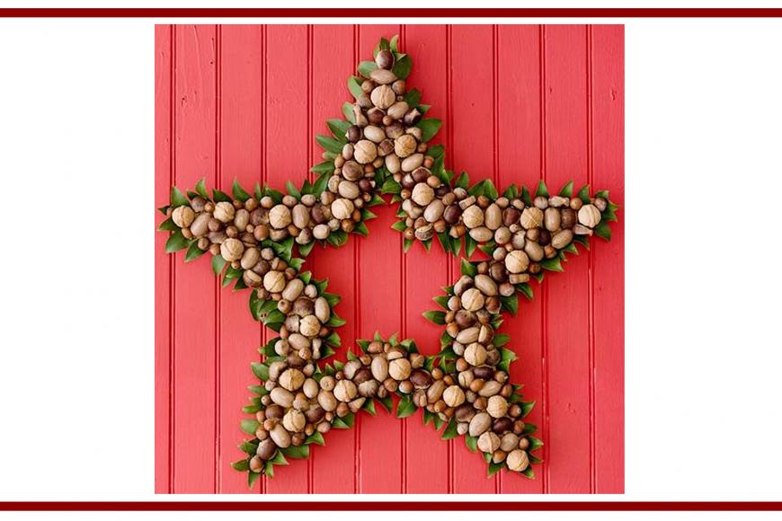 Idee dal web per una ghirlanda – Ideas from the web for a wreath