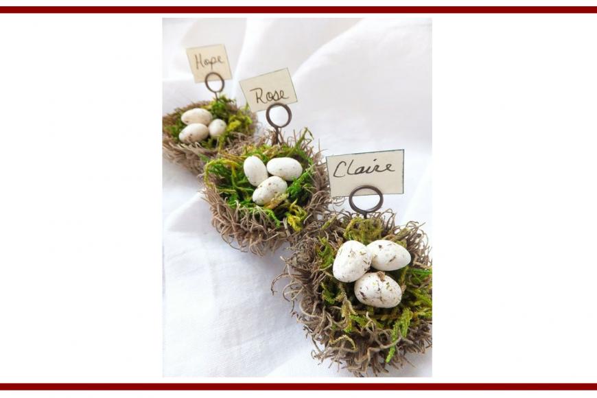 Idee dal web per un segnaposto di Pasqua – Ideas from the web for an Easter placeholder