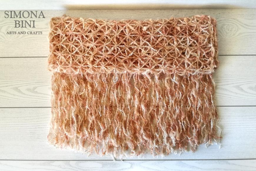 Sciarpa rosa antico –  Pink scarf