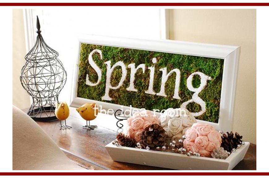 Idee dal web per la Primavera – Ideas from the web for Spring