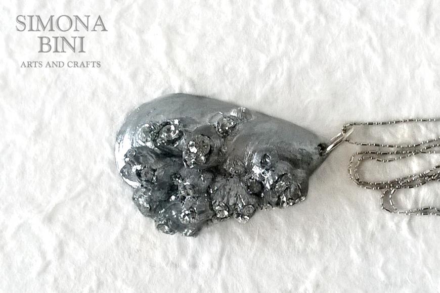 GIOIELLI VENUTI DAL MARE – Ciondolo conchiglia argento – Silver shell pendant
