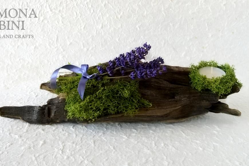 Porta candela mare e primavera – Candle holder sea and spring