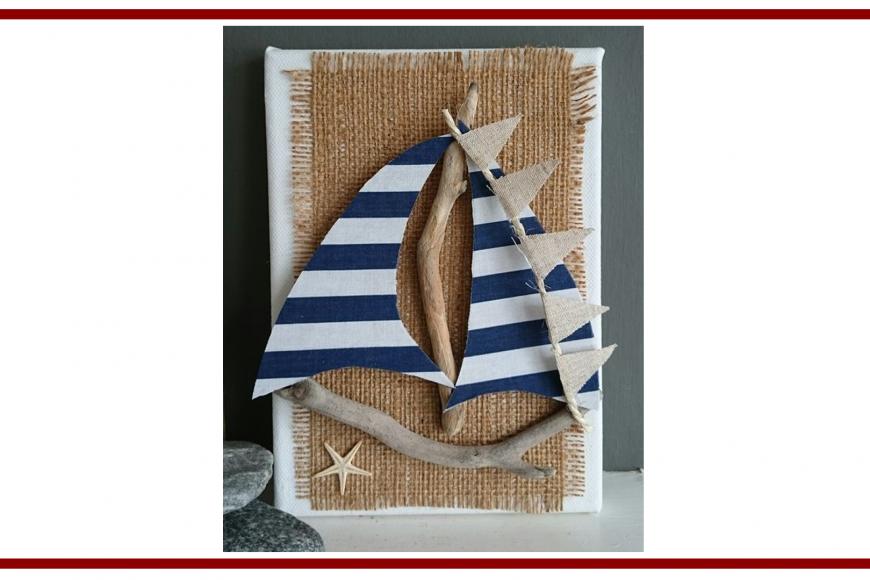 Idee dal web per un quadretto con barca – Ideas from the web for a small picture with boat