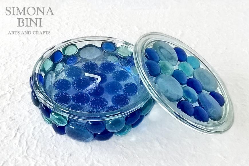 Candela marina blu – Blu Marine candle