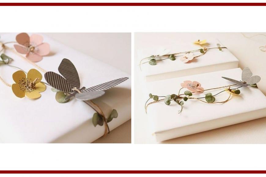 Idee dal web per la decorazione di un pacchetto – Ideas from the web
