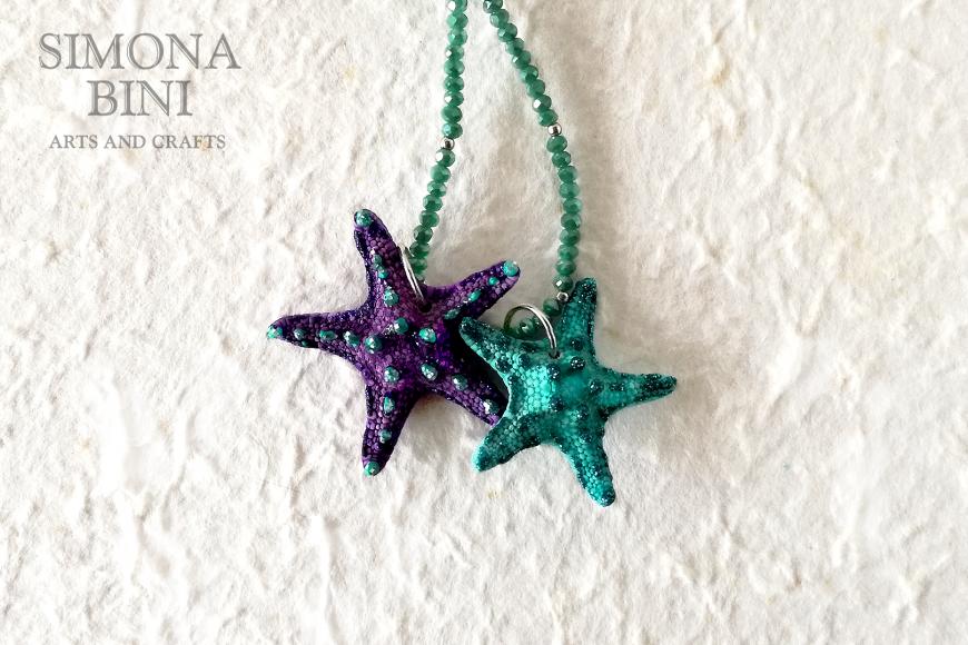 GIOIELLI VENUTI DAL MARE – Ciondoli di stelle marine – Starfish pendant