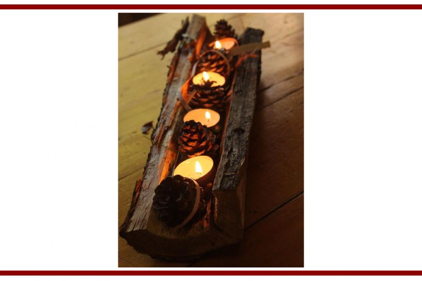 Idee dal web per l'autunno con delle candele – Ideas from the web
