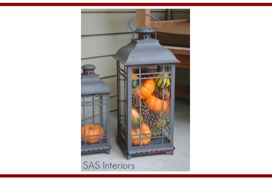 Idee dal web per la decorazione di una lanterna – Ideas from the web