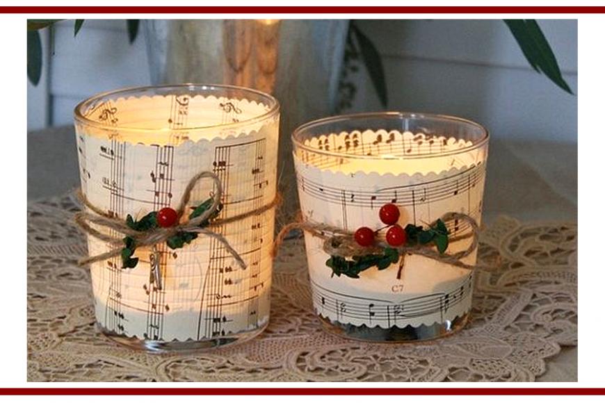 Idee dal web per una candela al profumo di Natale – Ideas from the web