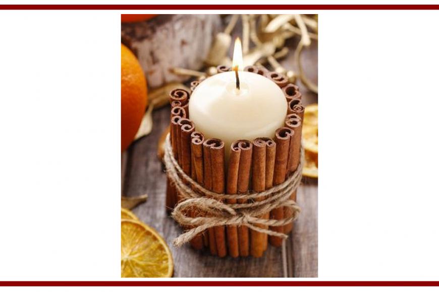 Idee dal web per una candela alla cannella – Ideas from the web