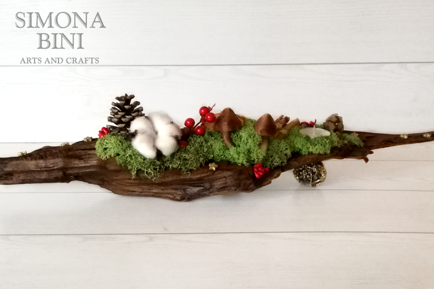 Quando il legno riprende vita per Natale – When the wood comes back to life