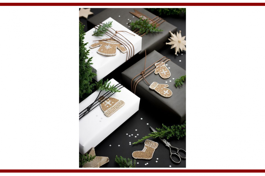 Idee dal web per decorare i pacchi regalo – Ideas from the web