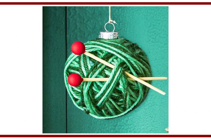 Idee dal web per una pallina di Natale – Ideas from the web
