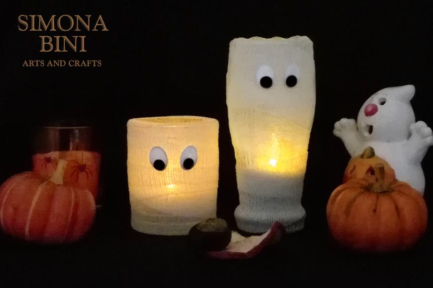 Da bicchieri a mummie per Halloween – From glasses to mummies for Halloween
