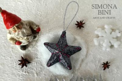 Una scintillante stellina per Natale – A sparkling Christmas star