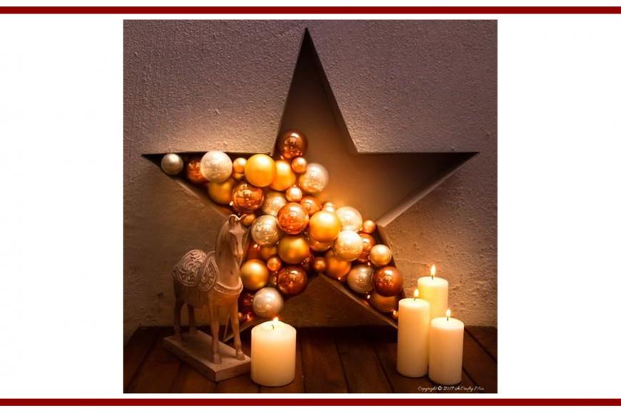 Idee dal web per una stella natalizia – Ideas from the web