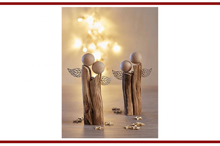 Idee dal web per due angioletti di legno – Ideas from the web