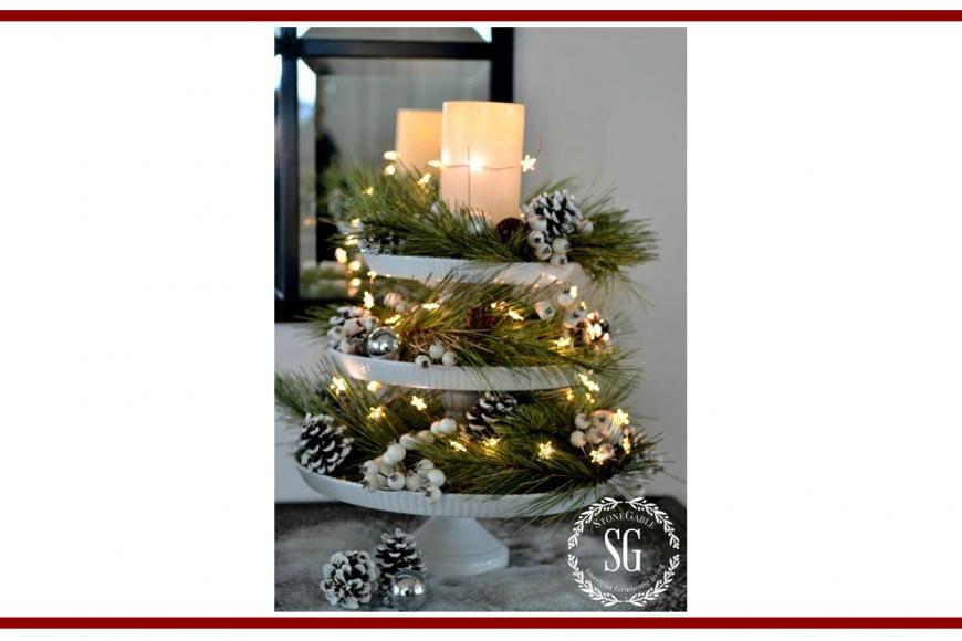Idee dal web per un centrotavola natalizio – Ideas from the web