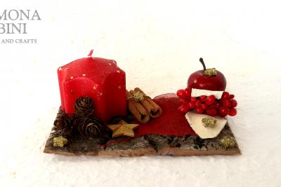 Una corteccia in rosso – A bark in red