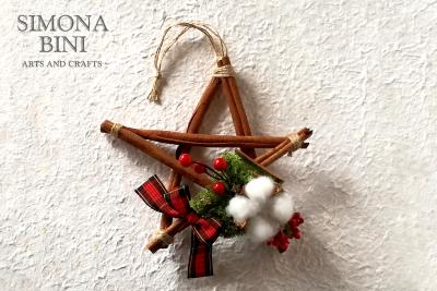 Una profumata stella alla cannella – A fragrant cinnamon star