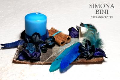 Una corteccia in blu – A bark in blue