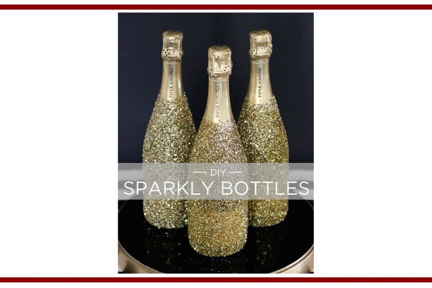 Idee dal web per una bottiglia scintillante  – Ideas from the web