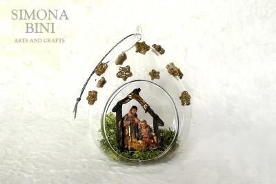Una pallina di vetro per un Buon Natale – A glass Christmas bauble